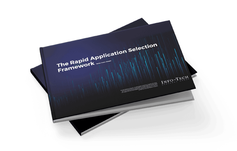 Rapid Application Selection Framework Cover