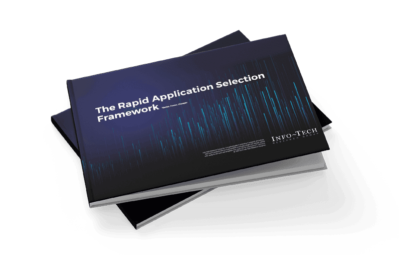 Rapid Application Selection Framework